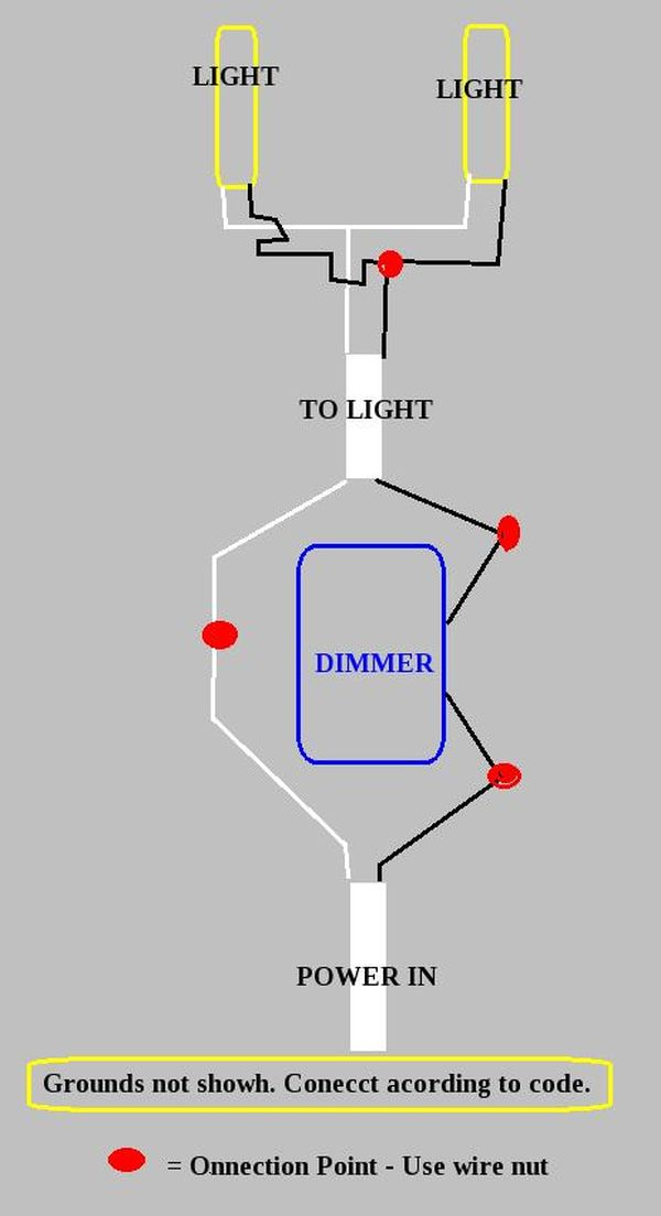 Vanity Light Wiring Diagram : Light Switch Extension Cord Wiring Diagram - Wiring Diagrams